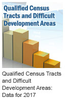 Qualified Census Tracts and Difficult Development Areas: Data for 2017 Icon