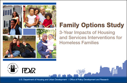 Family Options Study: 3-Year Impacts of Housing and Services Interventions for Homeless Families
