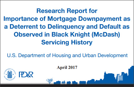 The Role of Downpayment as a Mortgage Risk Deterrent