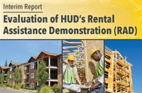 Evaluation of HUD's Rental Assistance Demonstration (RAD): Interim Report