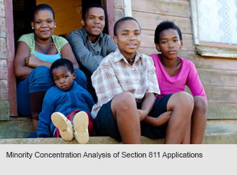 Minority Concentration Analysis of Section 811 Applications