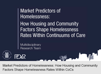 Market Predictors of Homelessness: How Housing and Community Factors Shape Homelessness Rates Within CoCs