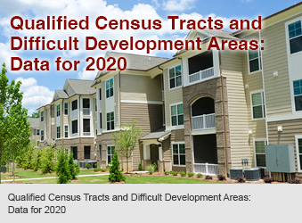 Qualified Census Tracts and Difficult Development Areas: Data for 2020
