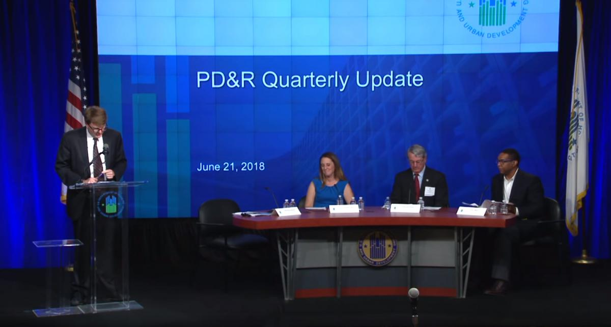 Regulatory Barriers and Affordable Housing Quarterly Update