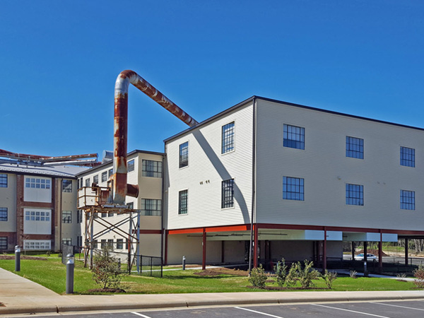 Photo of the Big Chair Lofts building exterior.