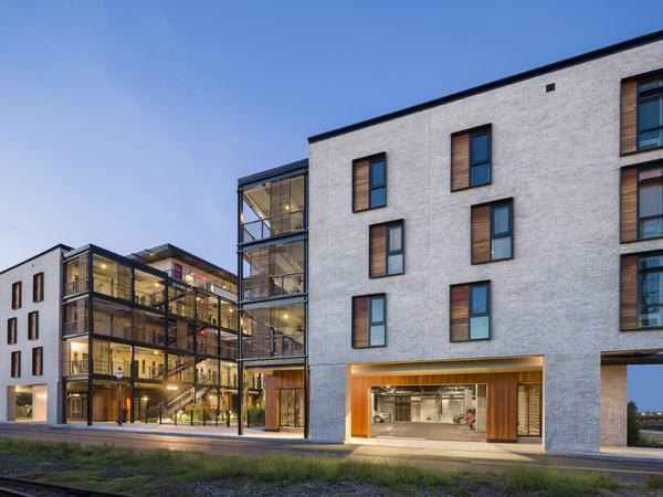 Design Bank Twist.Award Winning Affordable Housing Puts A Modern Twist On Classic