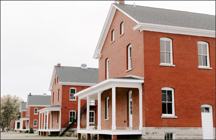 Historic Fort Restored for Use as Affordable Housing in Des Moines, Iowa