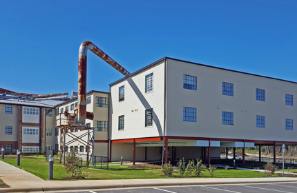 Revitalization Effort in Historic District Supports Rehabilitation of Old Wooden Mill