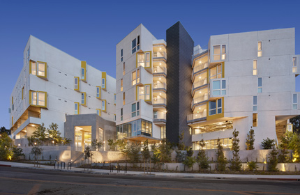 Mosaic Gardens at Westlake Provides Supportive and Intergenerational Housing in Los Angeles