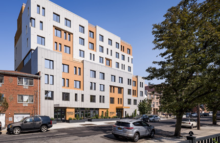 An Intergenerational Colocation: Senior Affordable Housing and a Childcare Facility in Queens, New York