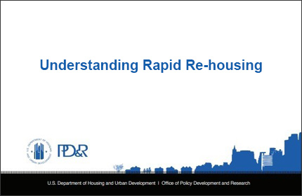 Rapid Re-Housing Working Papers