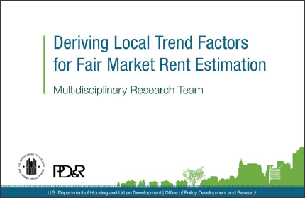 Deriving Local Trend Factors for Fair Market Rent Estimation