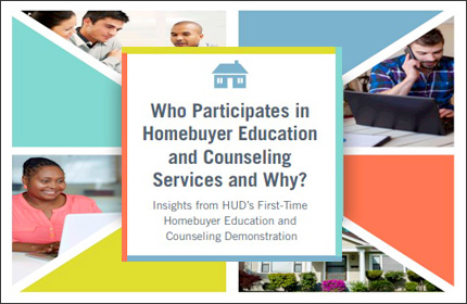Participation in First-Time Homebuyer Education and Housing Counseling