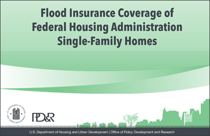 Flood Insurance Coverage of Federal Housing Administration Single-Family Homes