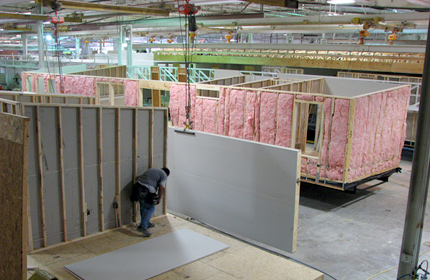 Factory Construction in Homebuilding