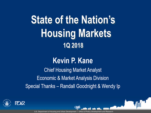 Summary of U S  Housing Market Conditions: 1Q2018 | HUD USER