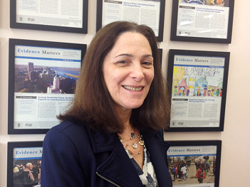 Image of Rachelle Levitt, Director of PD&R's Research Utilization Division.