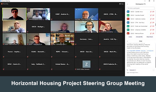 Horizontal Housing Project Steering Group Meeting