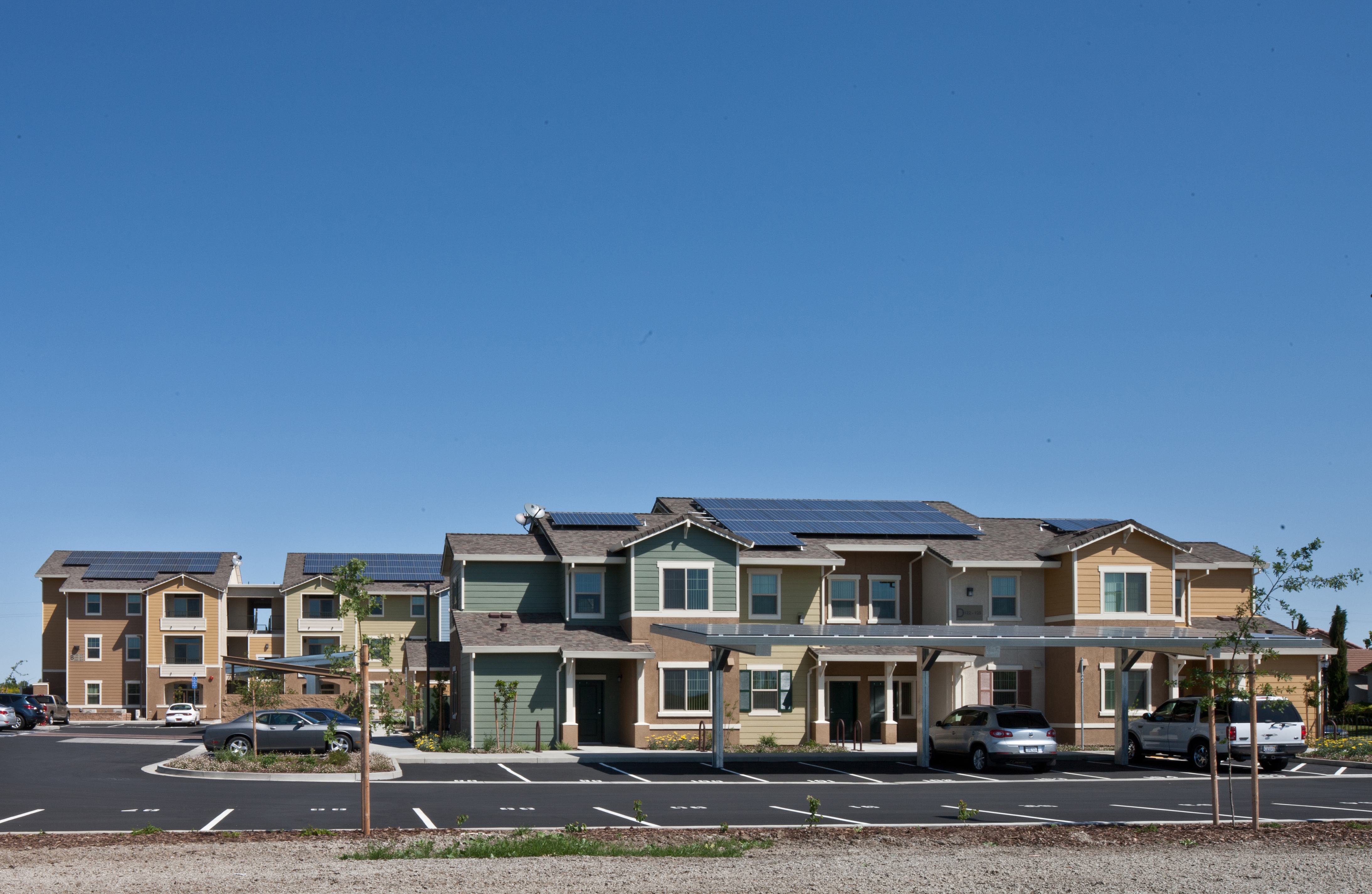 Zero Net Energy Affordable Housing: Home for Agricultural Workers in Woodland, California