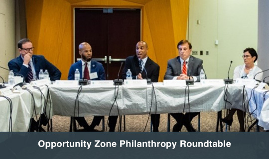 Opportunity Zone Philanthropy Roundtable