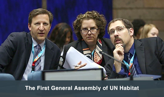 The First General Assembly of UN Habitat