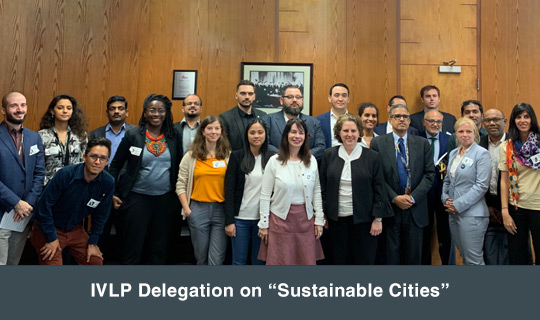 "IVLP Delegation on ""Sustainable Cities"""