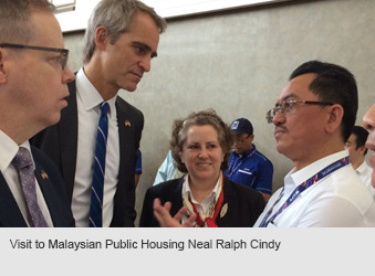 Visit to Malaysian Public Housing Neal Ralph Cindy