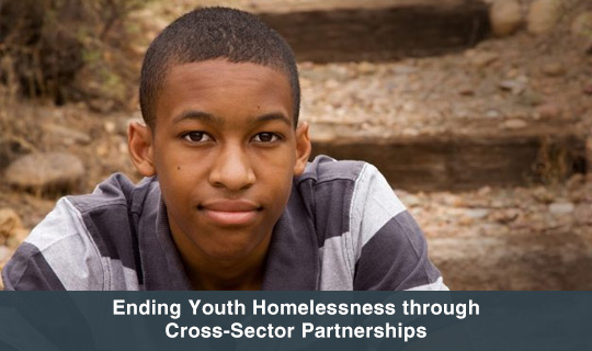 Ending Youth Homelessness through Cross-Sector Partnerships