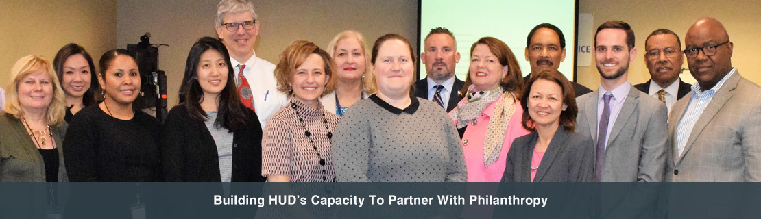 Building HUD's Capacity To Partner With Philanthropy