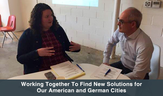 Working Together To Find New Solutions for Our American and German Cities
