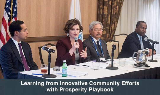 Learning from Innovative Community Efforts with Prosperity Playbook.