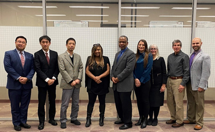 Japanese Aging in Place Research Project Delegation Visit
