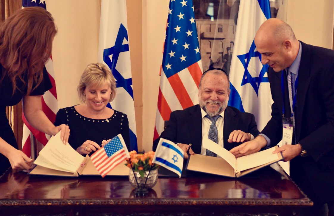 HUD Deputy Secretary Patenaude and Israeli Deputy Finance Minister Cohen Sign Joint Memorandum of Cooperation
