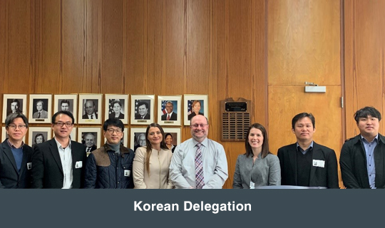 Korean  Delegation