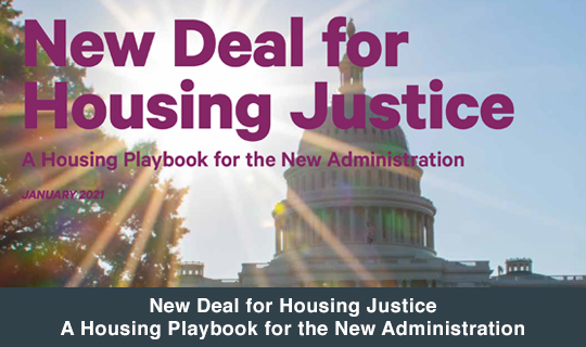 New Deal for Housing Justice