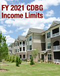 FY 2021 CDBG Income Limits Effective June 1, 2021