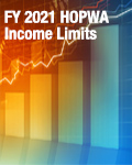 FY 2021 HOPWA Income Limits Effective June 1, 2021