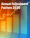 Annual Adjustment Factors 2020