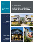 2020 HUD Secretary's Awards for American Institute of Architects - Housing and Community Design Brochure