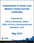 Assessment of Small Area Median Family Income Estimates