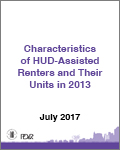Characteristics of HUD-Assisted Renters and Their Units in 2013