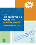 Call For Entries: 2019 HUD Secretary's Awards for Healthy Homes Deadline: March 29, 2019