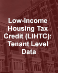 Low-Income Housing Tax Credit (LIHTC): Tenant Level Data