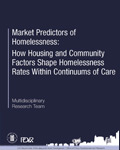Market Predictors of Homelessness: How Housing and Community Factors Shape Homelessness Rates Within Continuums of Care