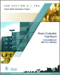 HUD Section 811 PRA Project Rental Assistance Program Phase II Evaluation Final Report Implementation and Short-Term Outcomes