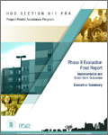 HUD Section 811 PRA Project Rental Assistance Program Phase II Evaluation Executive Summary