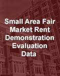 Small Area Fair Market Rent Demonstration Evaluation Data