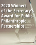 2020 Winners of the Secretary's Awards for Public-Philanthropic Partnerships