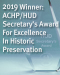 2019 Winner: ACHP/HUD Secretary's Award For Excellence In Historic Preservation
