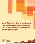 Use of Alternative Data to Supplement Low- and Moderate-Income Summary Data in the Community Development Block Grant Program